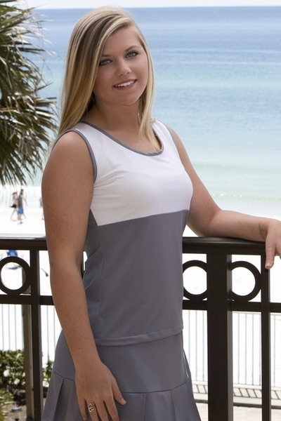 Empire Silhouette Tennis Tops for All Women