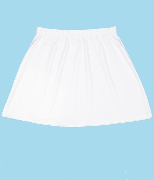 Sale White 2016 A Line Skirt - No Shorts