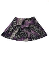 Image Custom Animal Abstract Flounce Tennis Skirt - No Shorts - Napa