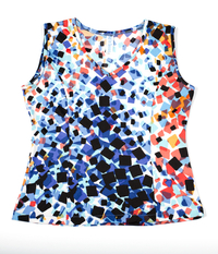 Image Custom Astana Blue Princess Tennis Top - Harrisburg, PA - Fabric Alert!