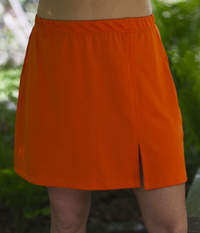 Image Size Medium - Sassy Slit Tennis Skirt - No Shorts