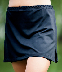 Image Free to Move Tennis Skirt with Built In Compression Shorts