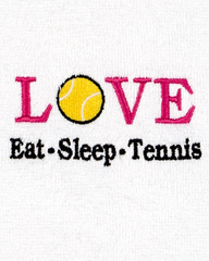 Image Eat, Sleep, Tennis Towel