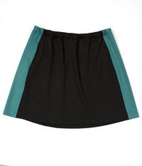 Image Custom Multi Colored Panel Color Block Skirt - No Shorts - FLorida