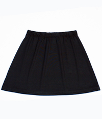 Image A Line Tennis Skirt Featured in Lightweight Black or Red - No Shorts Low Price!