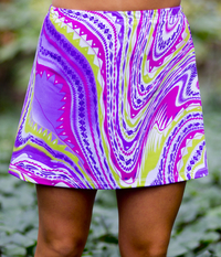 Image A Line Tennis Skirt With Shorts/Skort Featured in Nova