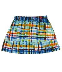 Image Size XL - The Blues Pleated Tennis Skirt with Shorts