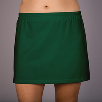 Image A Line Tennis Skirt With Shorts/Skort Featured in Kelly Green - Sale!