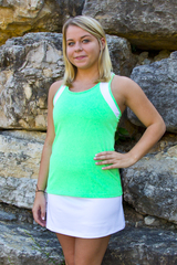 Image Razor Back Tennis or Activewear Top featured in Limelight or Blue Fusion