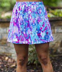 Image A Line Tennis Skirt Featured in Fun - No Shorts  - NEW PRINT, 2018!