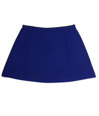 Image Size Medium - A Line Tennis Skirt Featured In Royal -  No Shorts