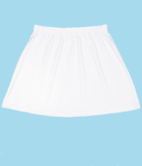 Image A Line Tennis Skirt With Shorts/Skort Featured in Sale White - New Low Price!