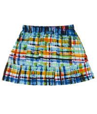 Image Custom The Blues Pleated Tennis Skirt - No Shorts - Denver, Co