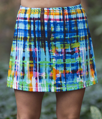 Image A Line Tennis Skirt With Shorts/Skort Featured in The Blues