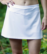 Image Run Around Active Wear Skirt with Built in Compression Shorts